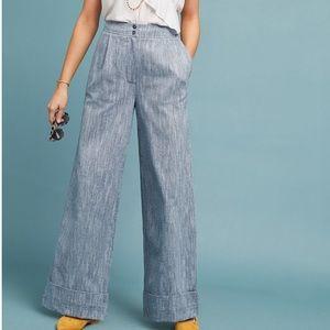 Dolan Harrison Wide Leg Trousers Size Medium